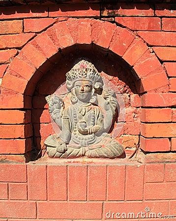 Hindu Deity.