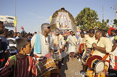 Hindu Devotees during Thaipusam festival Editorial Photography