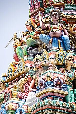 Hindu figures and art