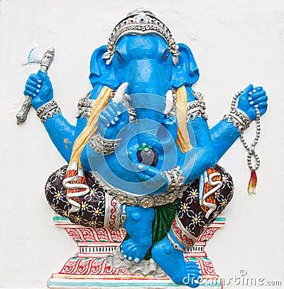 Hindu ganesha God Named Ekdanta Ganapati