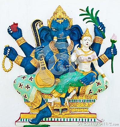 Hindu ganesha God Named Uchchishta Ganapati