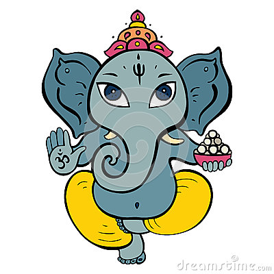 Free Hindu God Ganesha. Stock Photography - 41146212