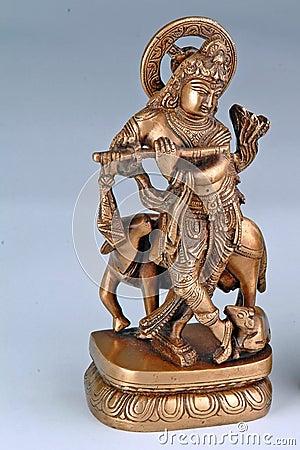 Free Hindu God Krishna Stock Photography - 669402