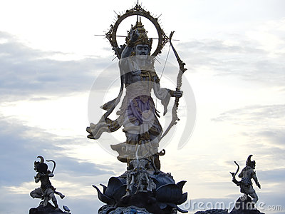 Hindu god Rama Stock Photo