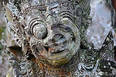 Hindu god sculpture