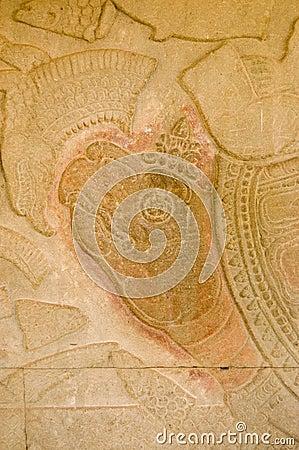 Hindu god Vishnu as a turtle