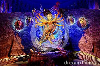 Hindu Mythology Editorial Photography