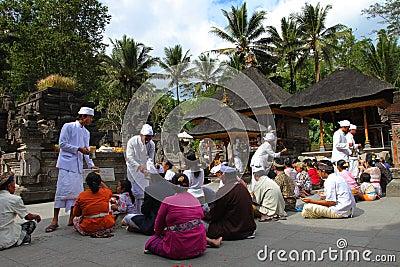 Hindu prayers Editorial Photo