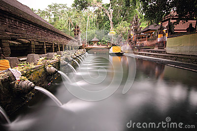 Ritual Bathing Pool at Puru Tirtha Empul, Bali