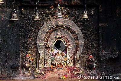 Hindu sacred altar