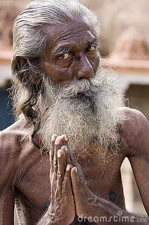 Hindu Sadhu (holy man) - India Editorial Image