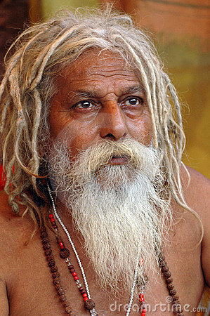 Hindu Sadhu in India Editorial Photography