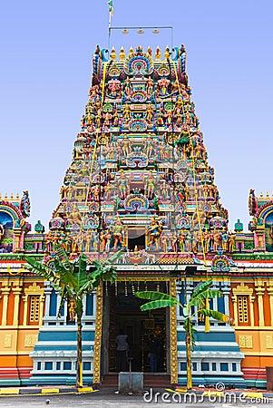 Free Hindu Temple At Kuala Lumpur Malaysia Stock Photo - 20055870