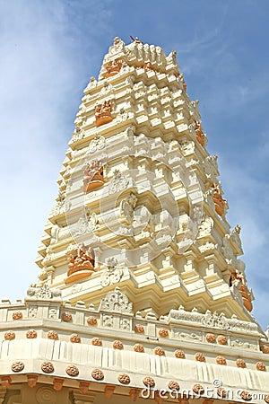 Hindu Temple Gleaming