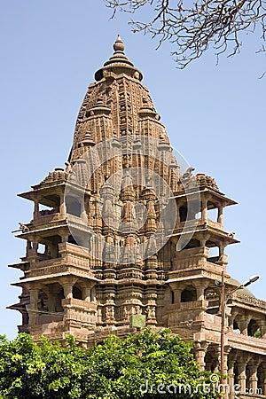 Hindu Temple - Mandore - Rajasthan - India