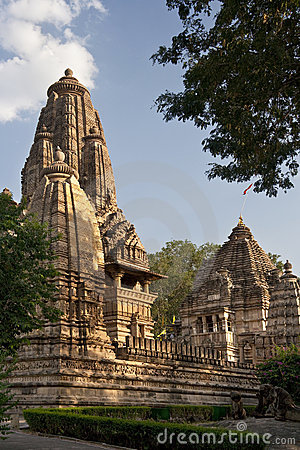 Hindu Temples at Khajuraho in India