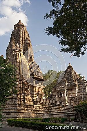 Hindu Temples at Khajuraho in India