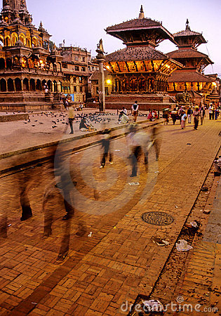 Free Hindu Temples- Nepal Stock Images - 553324