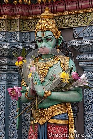 Hinduisk skulptur