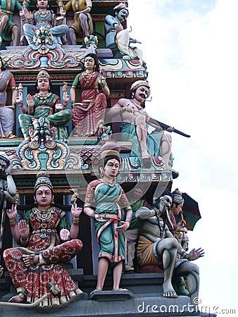 Hinduiskt tempel