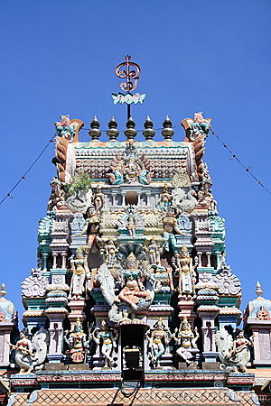 Hinduism Temple In Penang