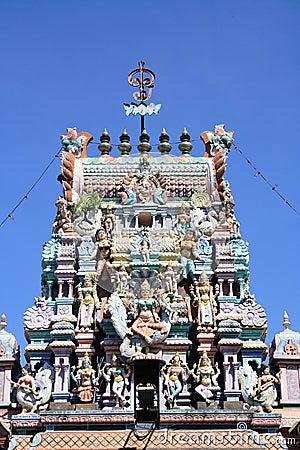 Hinduism Temple In Penang