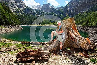 The Hinterer Gosausee (Upper Gosau Lake)
