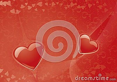 Hintergrund des Valentinsgrußes