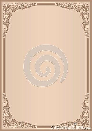 Hintergrund für Menü