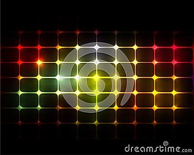 Hintergrund-Leuchten