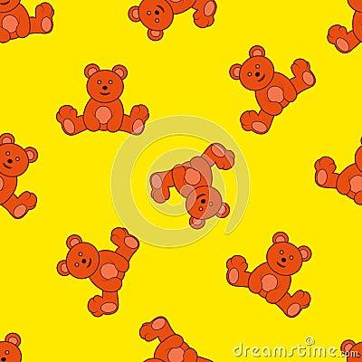 Hintergrund mit Teddybären