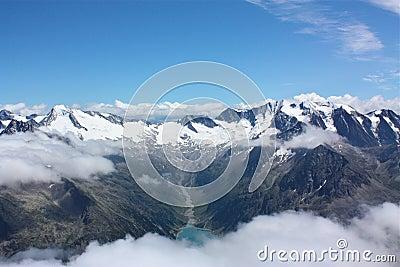 Hintertux Mountains Austria