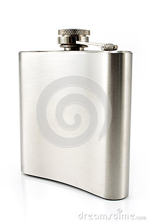 Hip flask for alcohol
