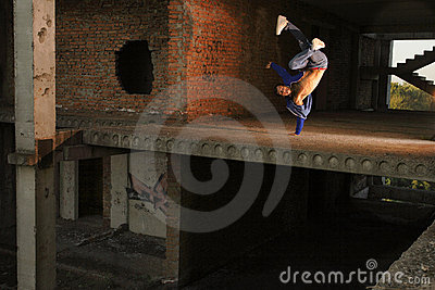 Hip-hop dance trick
