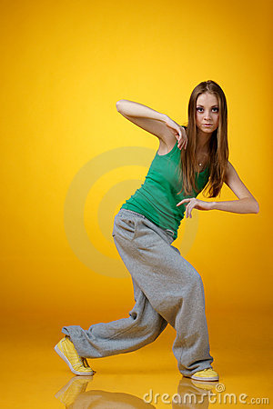 Hip-hop dancer