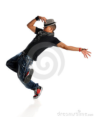 Free Hip Hop Dancer Royalty Free Stock Image - 17045556