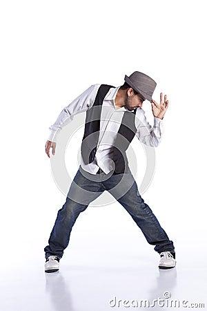 Free Hip Hop Dancer Stock Photo - 18409820