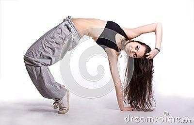 The hip-hop dancer