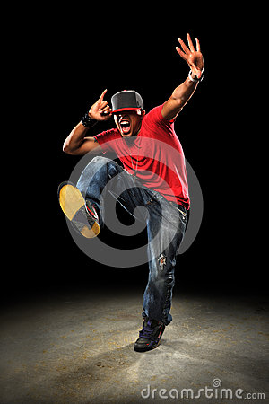 Free Hip Hop Dancer Royalty Free Stock Photo - 28327305