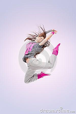 Free Hip-hop Dancer Girl Stock Photography - 24669352