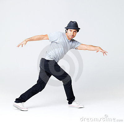 Cool Hip Hop Dance Poses Hip-hop-dancer-posing-grey- ...