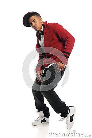 Hip Hop dancer s portrait