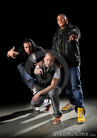 Free Hip Hop Group Stock Images - 7969364