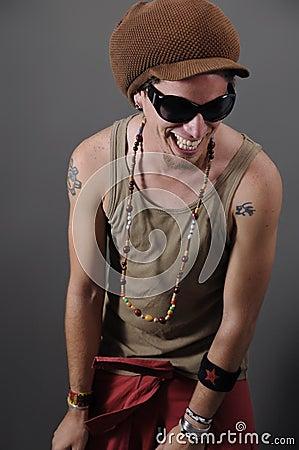 Free Hip Hop Guy Royalty Free Stock Photo - 5708755