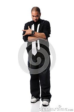 Hip Hop Man Standing