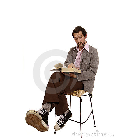 Free Hip Young Cool Guy With Dictionary Royalty Free Stock Photo - 1350745