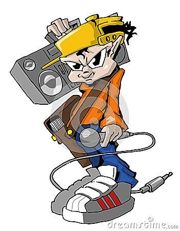 Hiphop Rapper