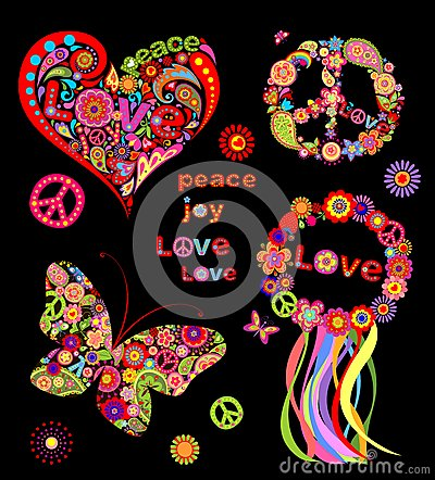 Hippie design Vector Illustration