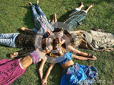 Hippie heads