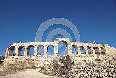 Hippodrome in Jerash